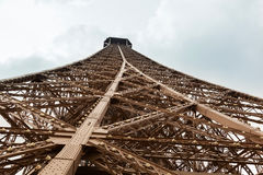 Detail of Eiffel Tower Royalty Free Stock Photo