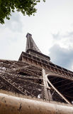 Detail of Eiffel Tower Stock Images