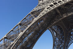Detail of Eiffel tower, Paris. Stock Image