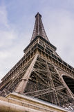 Detail of Eiffel Tower in Paris, France Stock Images