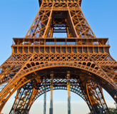 Detail of eiffel tower, Paris, France Stock Photo