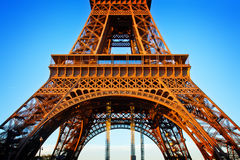 Detail of eiffel tower, Paris, France Royalty Free Stock Photography