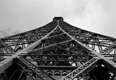 Detail from the Eiffel Tower – Paris, France Stock Image