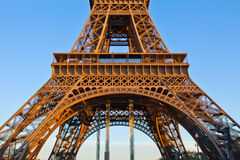 Detail of eiffel tower, Paris, France Stock Photos