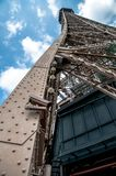 Detail Eiffel Tower stock images