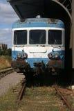 Detail einer alten französischen Bahnlokomotive Stockfoto
