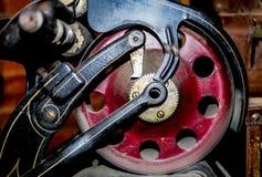 Detail einer alten Maschine lizenzfreie stockbilder