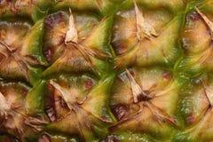 Detail einer Ananasschale Lizenzfreie Stockfotos