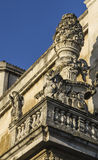 Detail einer barocken Dekoration, lecce stockfotos