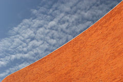 Detail einer Bricked Wand Lizenzfreies Stockfoto