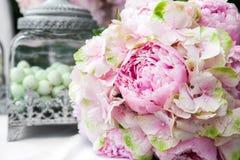 Detail einer Eleganzfarbbandblume Lizenzfreies Stockbild