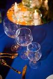 Detail einer Eleganzfarbbandblume Stockfotografie