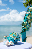 Detail einer Eleganzfarbbandblume Lizenzfreie Stockfotos