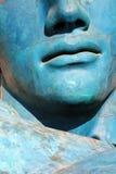Detail einer Gesichtsmaske stockbilder