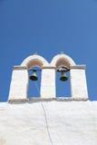 Kirche auf Paros Insel Stockfotografie
