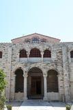 Kirche auf Paros Insel Lizenzfreies Stockfoto