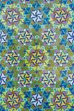 Detail einer Moschee in Casablanca lizenzfreie abbildung