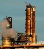 Detail einer Raffinerie 13 Stockbilder