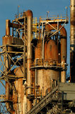 Detail einer Raffinerie 8 Stockfotos