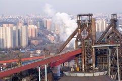 Detail einer Raffinerie Lizenzfreie Stockfotografie