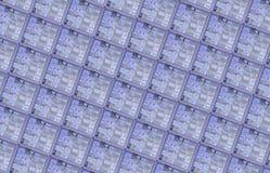 Detail einer Silikonoblate lizenzfreie stockbilder