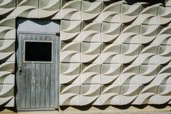 Detail einer weißen Wand Stockfotografie
