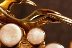 Detail eines Alt-Saxophons Stockfotografie