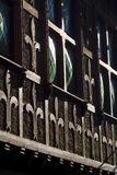 Detail eines alten Gebäudes Stockfoto