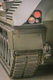 Detail eines Behälters Stockfotografie