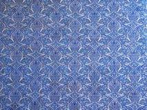 Detail eines blauen Mosaiks mit geometrischen Formen in Khan Palace von Khiva Lizenzfreie Stockbilder