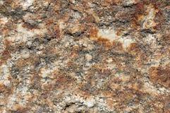 Detail eines Felsens Stockfotografie