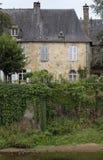 Detail eines französischen Hauses Lizenzfreie Stockfotos