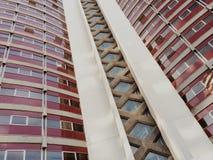 Detail eines Gebäudes Stockfoto