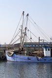 Detail eines Handelsschleppnetzfischers Stockbild