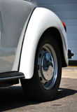 Detail eines klassischen Autos Stockfoto