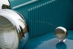 Detail eines klassischen Autos Lizenzfreies Stockfoto