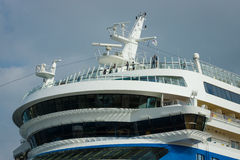Detail eines Kreuzfahrtschiffs AIDAmar Stockfotografie