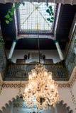 Detail eines marokkanischen Hauses Lizenzfreie Stockfotos