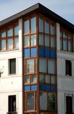 Detail eines modernen Hauses in Abano Terme in der Provinz von Padua in Venetien (Italien) Stockbilder