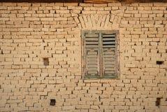 Detail eines rumänischen earh Hauses Stockbild