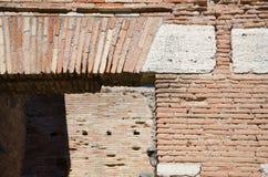 Detail eines Sturzes von der Römerzeit Stockfotos