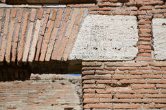 Detail eines Sturzes von der Römerzeit Lizenzfreies Stockbild