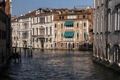 Detail eines venetianischen Kanals Lizenzfreies Stockbild