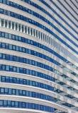 Detail eines zeitgenössischen Bürogebäudes in Groningen Lizenzfreies Stockbild