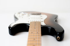 Detail of electric guitar Stock Photos
