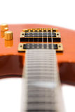 Detail of Electric Guitar Royalty Free Stock Images