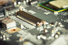 Detail of electronic board Stock Photography