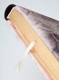 Detail of elegant diary with  bookmark Royalty Free Stock Photo