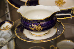 Detail of Elegant tableware set Royalty Free Stock Images
