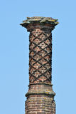 Detail of Elizabethan Chimney Stock Photography
